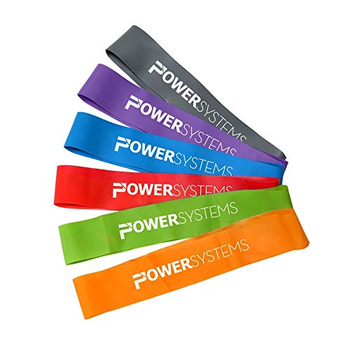Power Systems Versa-Loop Exercise Band Kit with All Six Resistance Levels