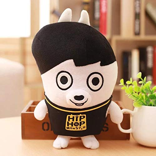BTS Plush Doll Bangtan Boys Cartoon Toy Kid Gifts Character Hiphop Monster (Jungkook) (Monsters Hip Hop)