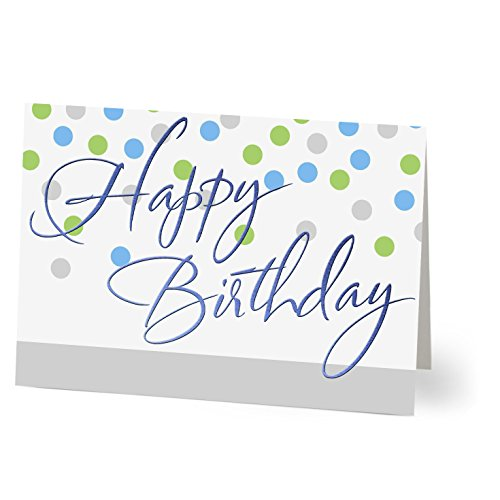 Hallmark Business Birthday 75 Pack Assorted Cards for Employees or Customers (Pack of 75 Assorted Greeting Cards for Business) by Hallmark Business Connections (Image #4)
