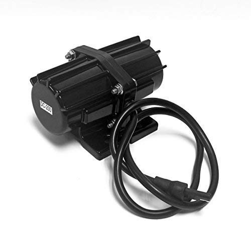 Signstek 200LB Vibrator Motor Sand & Salt Spreader for Snow Plough, Concrete Mixer DC12V