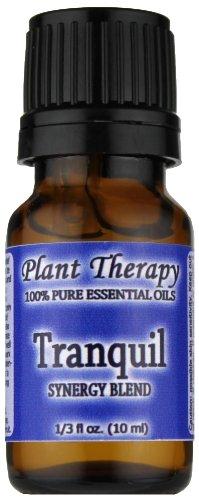 Tranquille Synergy mélange d'huiles essentielles. 10 ml. 100% pur, non dilué, catégorie thérapeutique. (Mélange de: Bergamote, Patchouli, orange sanguine, Ylang Ylang et de pamplemousse)