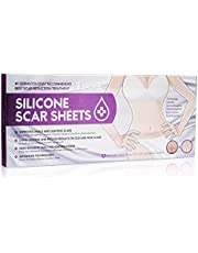 EXCEART 1 Box Silicone Scar Sheets Scar Removal Sheets Scar Stickers for Stretch Marks- Section Burn Surgery Injuries Scars