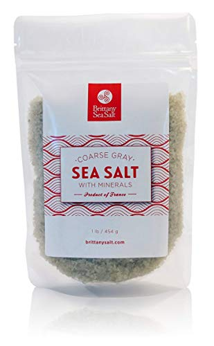 Brittany Sea Salt Coarse Gray Premium French Sea Salt 1 Lb Pouch