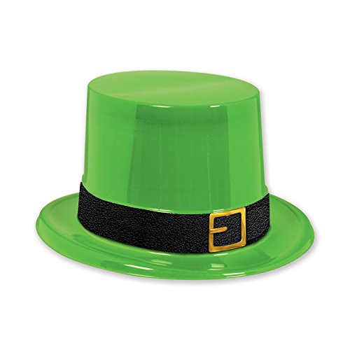 Club Pack of 25 Green St. Patrick's Day Party Leprechaun Top Hats ()
