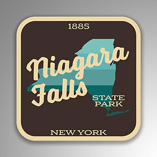 - JB Print Niagara Falls State Park Explore Wanderlust Camping New York Vinyl Decal Sticker Car Waterproof Car Decal Bumper Sticker 5