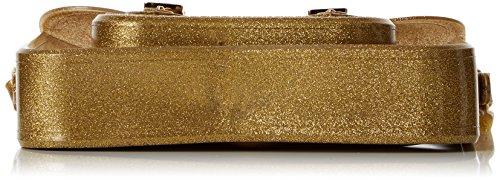 Melissa Cambridge Satchel - Bolsos maletín Mujer Dorado (Gold Glitter)