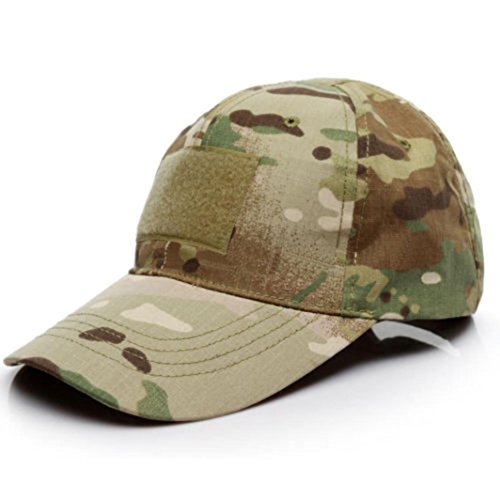 Aniywn Hot Sale! Outdoor Camo Tactical American US Flag Camouflage Baseball Hat Leisure Cap (Free Size, Camouflage 2)