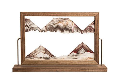 Rainbow Vision Sand Picture -- Landscape Walnut by Rainbow Vision Sand Pictures
