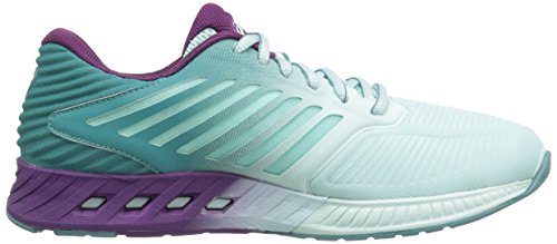 ASICS Women's Fuzex Running Shoe, Soothing Sea/Phlox/Kingfisher, 7.5 M US