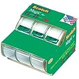"""Scotch 3105 3/4"""" x 300"""" Scotch Magic Tape 3 Pack"""