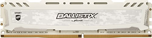 Black Edition Special Cube (Ballistix Sport LT 8GB Single DDR4 2400 MT/s (PC4-19200) SR x8 DIMM 288-Pin Memory - BLS8G4D240FSCK (White))