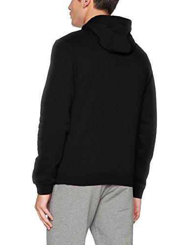 Nike Mens Sportswear Pull Over Club Hooded Sweatshirt - Medium - Black/White