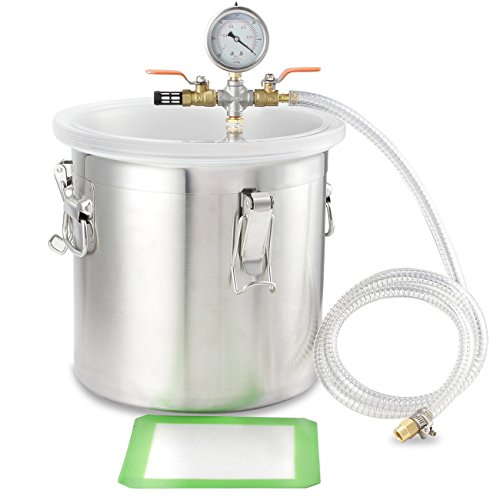 arksen-5-gal-vacuum-degassing-chamber-resin-silicone-epoxy-metal-solvent-280mm
