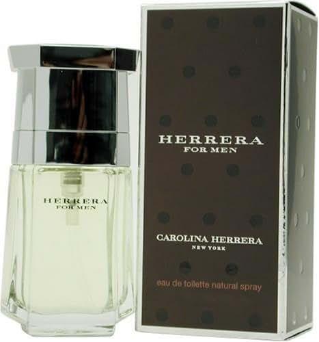 Herrera By Carolina Herrera For Men Eau De Toilette Spray, 1-Ounce