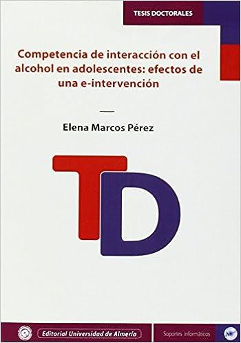 Competencia de interacción con el alcohol en adolescentes: