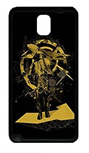 Fit Case with Abstract Painting Art Printed Plastic and TPU Back Case Cover for Samsung Galaxy Note 3 n900