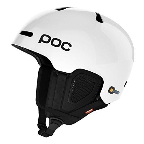 POC Fornix Backcountry MIPS Ski Helmet, Hydrogen White, Medium/Large by POC
