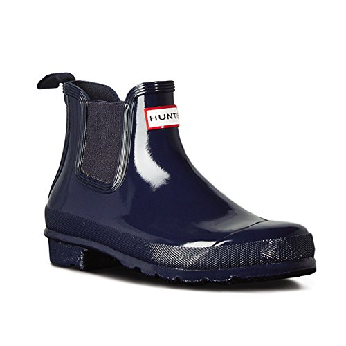 Hunter Womens Original Chelsea Boots Gloss Navy VSFD2e