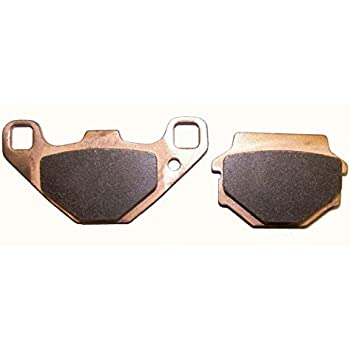 WSM Suzuki 400 Rear Brake Shoes 09-2205E OEM 64400-38830