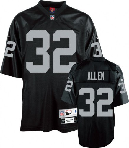 Raiders Men's NFL Mitchell & Ness Premier Black Jersey (Mitchell Black Football Jersey)