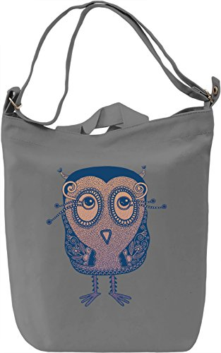 Cute Bird Borsa Giornaliera Canvas Canvas Day Bag| 100% Premium Cotton Canvas| DTG Printing|
