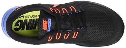 Nike Women's Free 5.0+ Laufschuh Schwarz / Blau / Hyper Orange