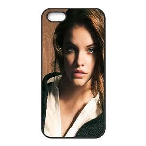 iPhone 5 5s Cell Phone Case Black hc80 barbara palvin staring natural sexy girl model Lsjtn