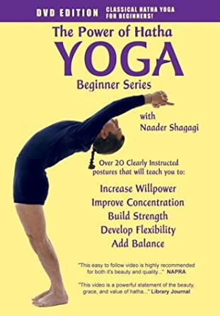 Amazon.com: The Power of Hatha Yoga: Beginner Series: Naader ...