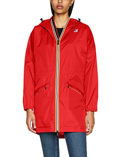 K08 Donna Cappotto Celine K Rosso way red zqpv1v