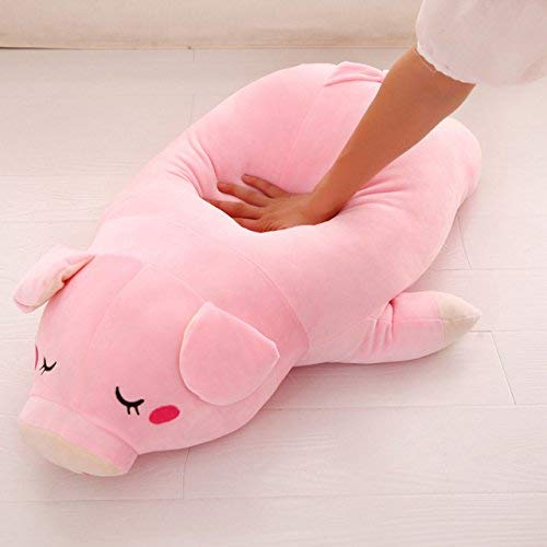 """Passionfruit 19.6"""" Stuffed Plush Pig / Piggy Pet -Toy Pink Doll Baby Pillow"""