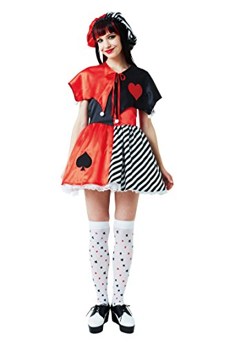 Joker Girl Costume Women's 155cm ~ 165cm ¡iClearstone Genuine¡j