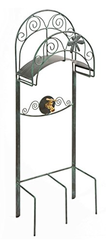 Liberty Garden 642 Dragon Fly Garden Hose Stand, Holds 125-Feet of 5/8-Inch Hose - Patina from Liberty Garden Products