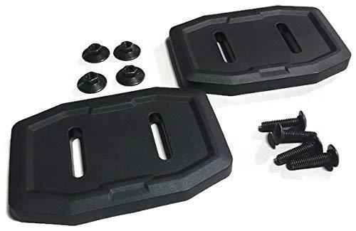 Set of 2 Genuine Husqvarna 583838801 Composite Skid Shoe OEM with Hardware by Husqvarna