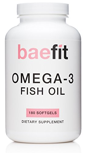 Baefit omega 3 fish oil triple strength 2000mg with 800mg for Omega 3 fish oil weight loss