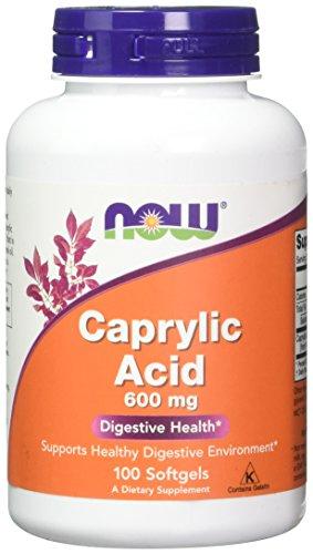 NOW Foods Caprylic Acid 600