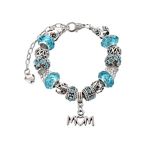 Mom Pandora Blue Stone Bracelet Mothers Day Gifts Gift For Mom