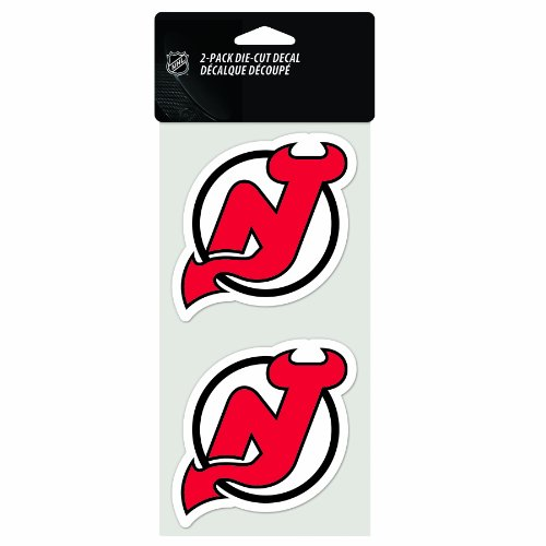 - NHL New Jersey Devils 2-Piece Die-Cut Decal, 4