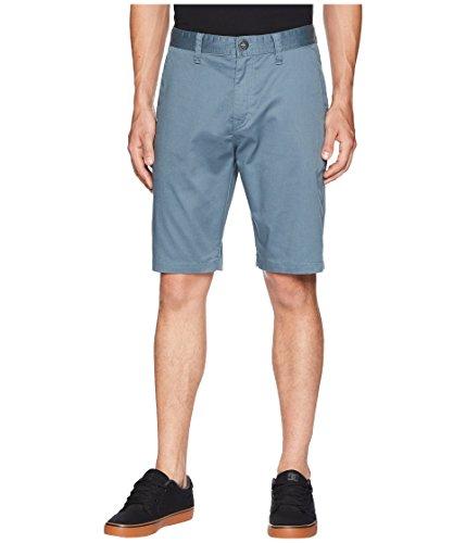 Volcom Men's Zap Frickin Mod Stretch Shorts Ash Blue 34 10