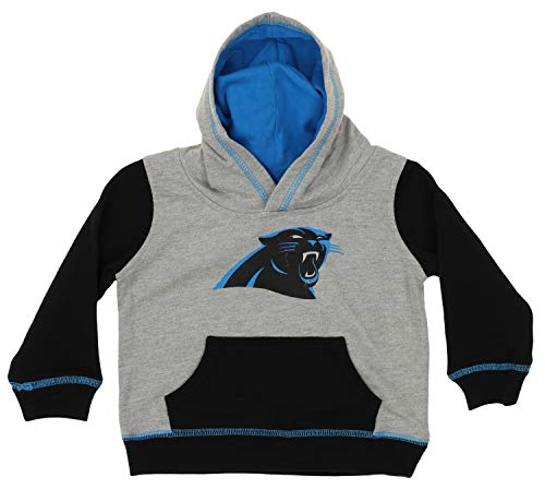 - Outerstuff NFL Baby Carolina Panthers Standard French Hoodie, Grey, 4T