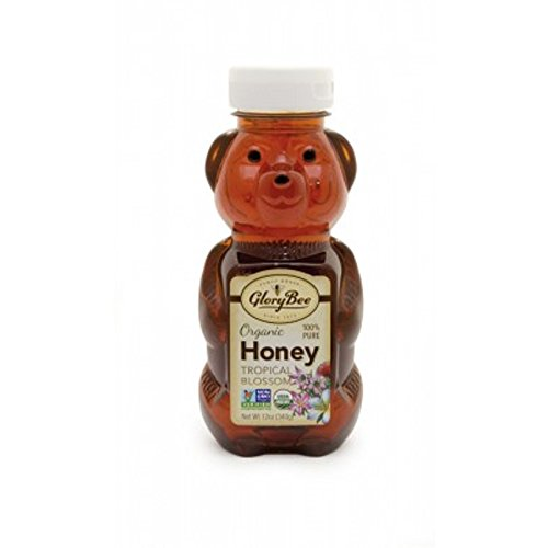 Glory Bee Honey (GloryBee Organic Tropical Blossom Honey Bear, 12 Ounce)