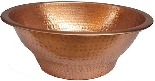 Egypt gift shops Polished Copper Foot Rub Bodywork Relaxation Pedicure Massage Therapy Bowl (Decorative Basins Decorative Basins)