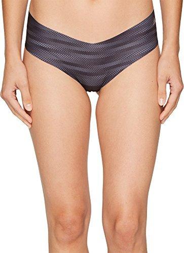 adidas Womens Seamless Underwear Single Hipster, Ratio Print Black/Matte Silver, X-Large