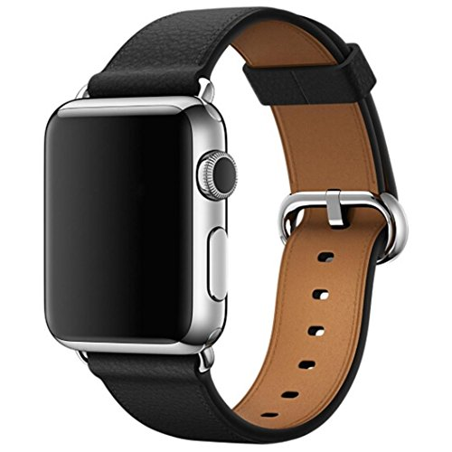 gbsell-fashion-single-tour-genuine-leather-band-bracelet-watchband-for-apple-watch-38mmblack