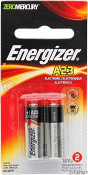 Energizer ENERGIZER A23 12V батареи 2-PKZERO МЕРКУРИЙ
