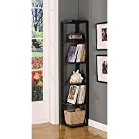 Five Tier Corner Bookcase
