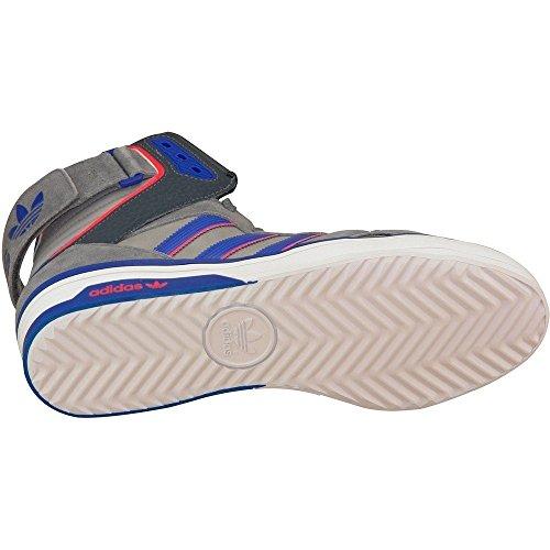 Adidas SPACE DIVER Scarpe Moda Sneakers Pelle Grigio Blu per Uomo