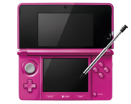 Nintendo 3DS Console-Pink Gloss Japanese Imported Version – only plays Japanese version games