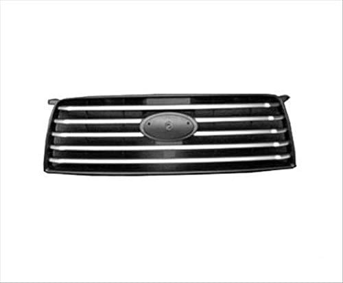 Unknown Partslink Number SU1200141 OE Replacement Subaru Forester Grille Assembly