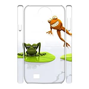 3D The frog world Samsung Galaxy S4 Case White
