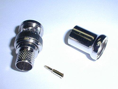 27-9293 BNC Plug 3 Piece Crimp Style for RG11 Coax Cable (1 piece)